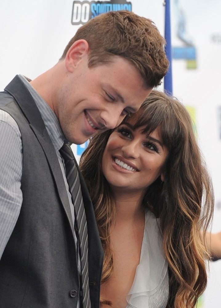 glee rachel and finn dating in real life